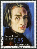 LUXEMBOURG - 2011: shows Franz Liszt (1811-1886), 200th Anniversary Birth — Stock Photo
