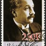 CONGO - 2012: shows Albert Einstein (1879-1955) — Stock Photo