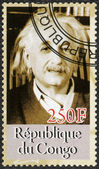 CONGO - 2012: shows Albert Einstein (1879-1955) — Stock Photo
