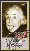 CONGO - 2012: shows Albert Einstein (1879-1955) — Stockfoto