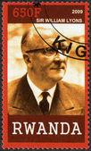 RWANDA - 2009: shows portrait of Sir William Lyons (1901-1985) — Stock Photo
