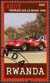 RWANDA - 2009: shows Ferrari 625 Le Mans, 1956 — Stock Photo