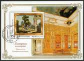 RUSSIA - 2004: shows amber room the state museum tzarskoje selo — Stock fotografie