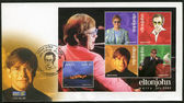 MALTA - 2003: shows Elton John Hercules, Reginald Kenneth Dwight, a singer, — 图库照片