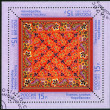 Stock Photo: RUSSI- 2013: shows Kabanovo kerchief