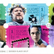 FINLAND - 2013: shows the centenary of the Union of Finnish Actors — Stock Photo