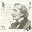 Постер, плакат: MALTA 2005: shows Hans Christian Andersen 1805 1875 a writer