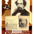 Stock Photo: GIBRALTAR - 2005 : shows Charles Dickens (1812-1870), Oliver Twist, 200th anniversary of Charles Dickens