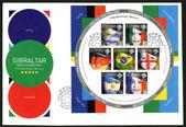 GIBRALTAR - 2006 : shows FIFA World Cup, Germany 2006 — Zdjęcie stockowe