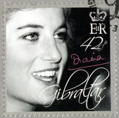 GIBRALTAR - 2007 : shows Diana (1981-1997), Princess of Wales Tribute — Stock Photo