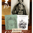 GIBRALTAR - 2005 : shows Charles Dickens (1812-1870), david copperfield, 200th anniversary of Charles Dickens — Stock Photo
