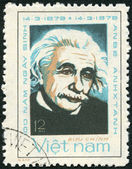 VIETNAM - 1979: shows Albert Einstein (1879-1955) — Stock Photo