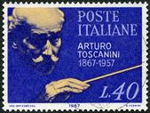 ITALY - 1967: shows Arturo Toscanini (1867-1975), Italian Conductor — Stock Photo