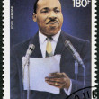 DJIBOUTI - 1983: shows Martin Luther King, Jr. (1929-68), civil rights leader — Stock Photo