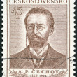 CZECHOSLOVAKI- 1954: shows Anton Pavlovich Chekhov (1860-1904) — Stock Photo #32545241