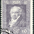 SPAIN - 1930: shows Francisco Jose de Goya y Lucientes (1746-182 — Stock Photo