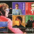 MALT- 2003: shows Elton John Hercules (Reginald Kenneth Dwight), singer — Stock Photo #32965233