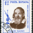 Stock Photo: ROMANI- 1964: shows Galileo Galilei (1564-1642), issued for 400th birth anniversary