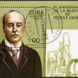 CUBA - 1993: shows  Rudolf Diesel (1858-1913), 80th anniversary of death — Stok fotoğraf
