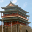 The Zhengyangmen Gatehouse commonly know as Qianmen in Dongcheng District, Beijing, China — Stockfoto