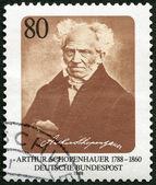 GERMANY - 1988: shows Arthur Schopenhauer (1788-1860), philosopher — Stock Photo