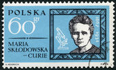 POLAND - 1963: shows Marie Sklodowska Curie (1867-1934) — Stock Photo