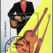 Stock Photo: SAO TOME AND PRINCIPE - 1996: shows Elvis Presley (1935-1977)