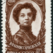 USSR - 1960: shows Vera Komissarzhevskaya (1864-1910), Actress — Stock Photo