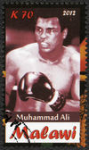 Malawi - 2012: shows Muhammad Ali — Stock Photo