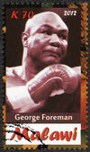 Malawi - 2012: shows George Foreman — 图库照片