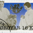 FAROE ISLANDS - 2011: shows The Nurses - Marianna and Petra, series Traditional Female Professions — Stock Photo #37733405