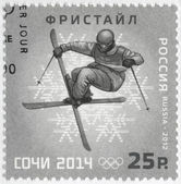 RUSSIA - 2012: shows XXII Olympic Winter Games in Sochi 2014, Olympic winter Sports, freestyle — Stock Photo