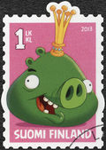 FINLAND - 2013: shows King Pig (Angry Birds) by Rovio Entertainment — Stock Photo