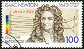 GERMANY - 1993: shows Sir Isaac Newton (1642-1727), scientist — Stock Photo