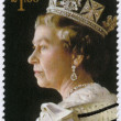 UNITED KINGDOM - 2013: shows Portrait of Queen Elizabeth II, 60th anniversary of Coronation of Her Majesty — Stock Photo #39757781