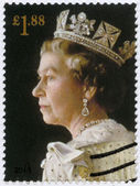 UNITED KINGDOM - 2013: shows Portrait of Queen Elizabeth II, the 60th anniversary of the Coronation of Her Majesty — Stock Photo