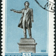 USSR - 1959: shows Alexander Pushkin (1799-1837) Statue, St. Petersburg — Stock Photo