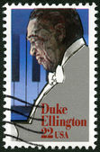 "USA - 1986: shows Edward Kennedy ""Duke"" Ellington (1899-1974), Jazz Composer — Stock Photo"