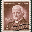 US- 1954: shows George Eastm(1854-1932), Inventor and Philanthropist — Stock Photo #41319089