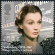 UNITED KINGDOM - 2013: shows actress Vivien Leigh (1913-1967), actress, series Great Britons — Stock Photo