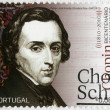 PORTUGAL - 2010: shows Frederic Chopin (1810-1849), composer and virtuoso pianist — Stock Photo