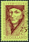 NETHERLANDS - 1969: shows Desiderius Erasmus (1469-1536), scholar — Stock Photo