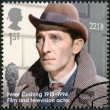 UNITED KINGDOM - 2013: shows Peter Cushing (1913-1994), actor, series Great Britons — Stock Photo