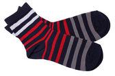 Paire de chaussettes rayées — Photo