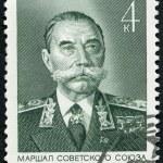 Постер, плакат: USSR 1974: shows Marshal Semyon Mikhailovich Budyonny Budenny 1883 1973