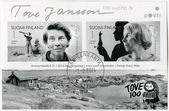 FINLAND - 2014: shows Tove Jansson, writer, 100th birth anniversary — Foto Stock