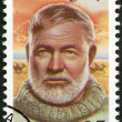 USA - 1989: shows Ernest Hemingway (1899-1961), Nobel Prize-winner for Literature — Stock Photo #44797645