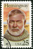 USA - 1989: shows Ernest Hemingway (1899-1961), Nobel Prize-winner for Literature — Zdjęcie stockowe