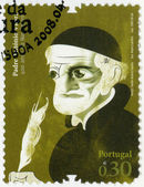 PORTUGAL - 2008: shows Father Antonio Vieira (1608- 1697), missionary in Brazil, diplomat, series Figures of Portuguese History and Culture — Stock Photo