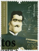 PORTUGAL - 2008: shows Mira Fernandes (1884-1958), mathematician,  series Figures of Portuguese History and Culture — Stock Photo